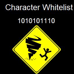 1010101110-serverCharWhitelist icon