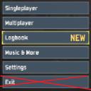 DestroyedClone-NoQuitMainMenu icon