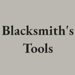 GoldenJude-Blacksmiths_tools icon