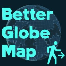 Powana-BetterGlobeMap icon