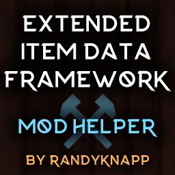 RandyKnapp-ExtendedItemDataFramework icon