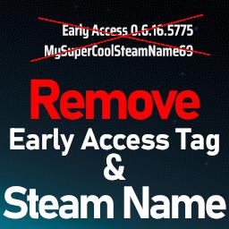 Taki7o7-RemoveEarlyAccessAndSteamName icon