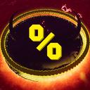 Wolfo-YellowPercent icon